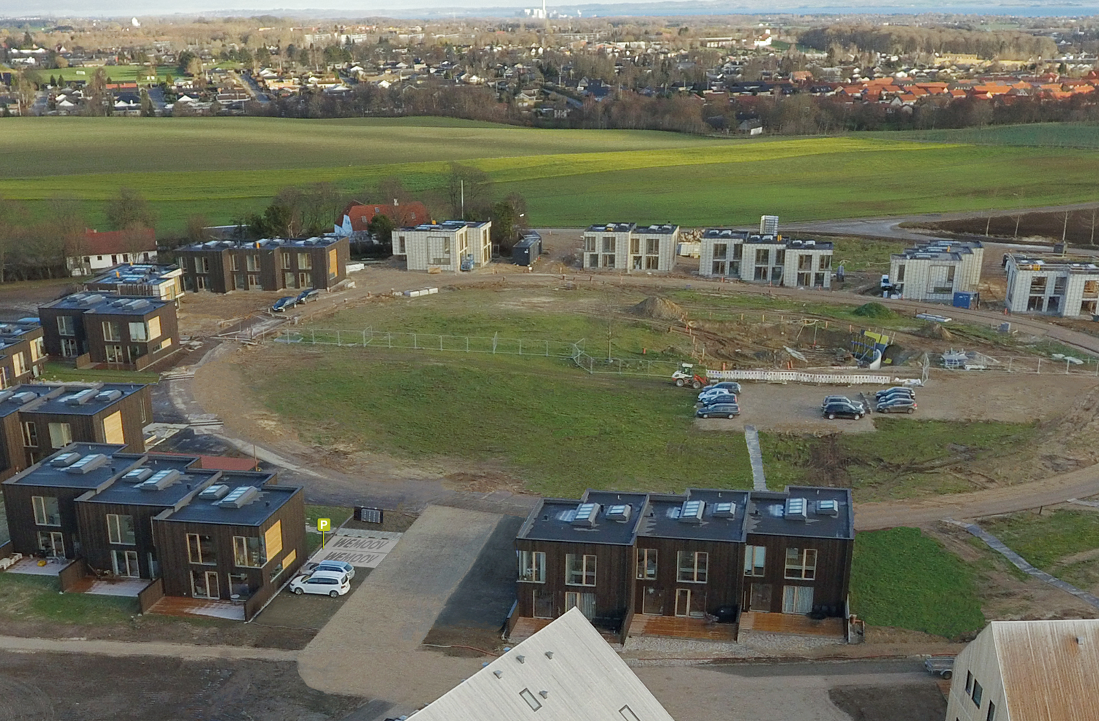 Dronebillede taget af Aarhus Kommune